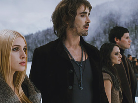 Lee Pace as Garret the vampire in a still from Breaking Dawn Part 2. 