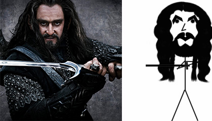Thorin and Stick Thorin