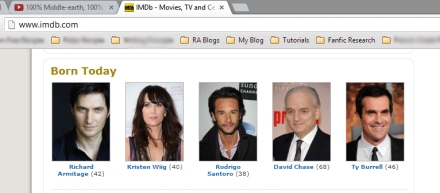 Born Today IMDB